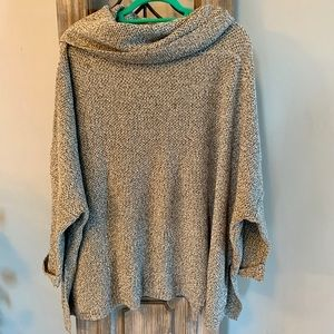 New With Tags Poncho Style Sweater
